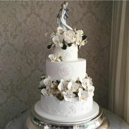 the king cake bolos para casamento