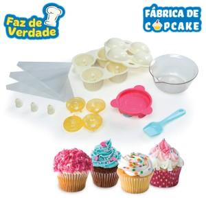 brinquedo fábrica de cupcake estrela