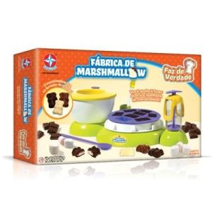 brinquedos fábrica de marshmallow