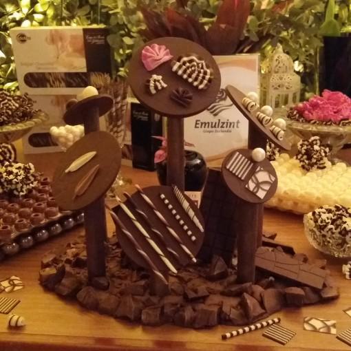 emulzint dobla decoração chocolate belga