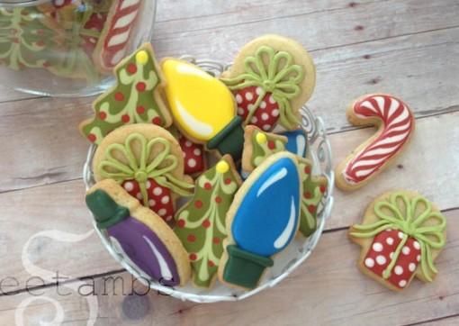 biscoitos decorados de natal 3