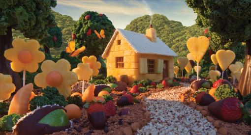 cabana de frutas
