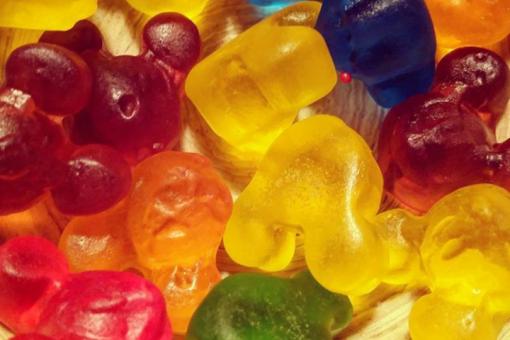 Balas de gelatina caseiras