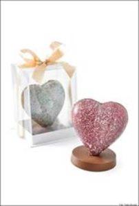coração de chocolate dia das mães